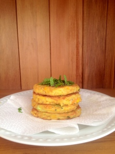 Vege fritters